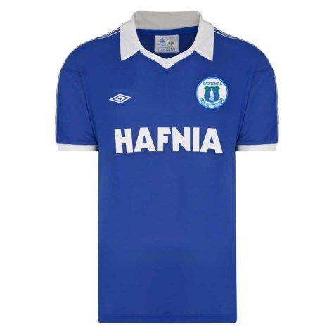 Everton 1980 Umbro Retro Football Shirt