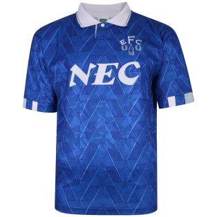 Everton 1990 Home Retro Football Shirt