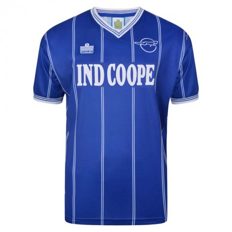 Leicester City 1984 Admiral shirt
