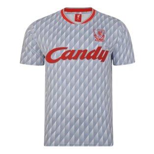 Liverpool FC 1990 Away Retro Football Shirt
