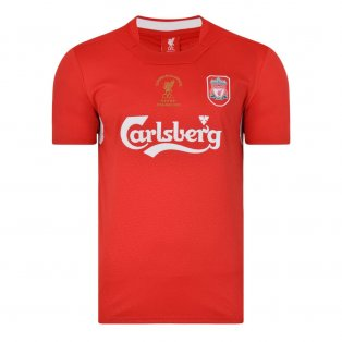 Liverpool FC 2005 Champions League Final shirt