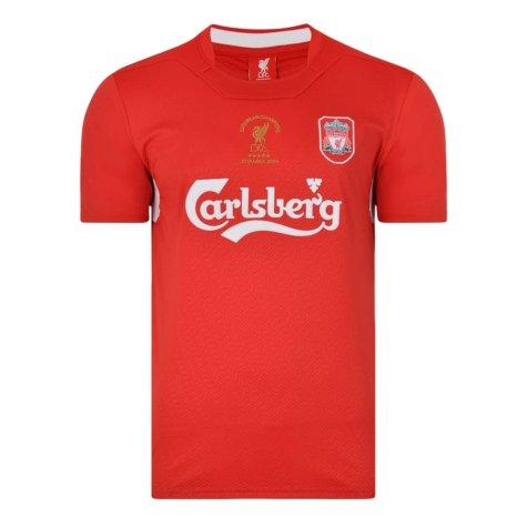 Liverpool FC 2005 Champions League Final shirt
