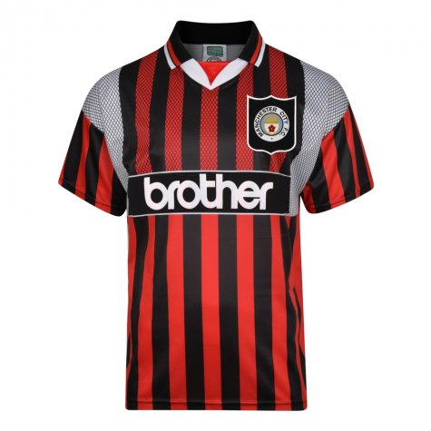 Manchester City 1994 Away Retro Shirt