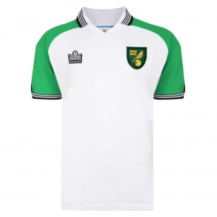 Norwich City 1978 Admiral Away Retro Football Shirt