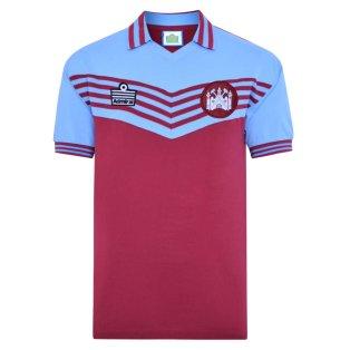 West Ham United 1980 Admiral Retro Shirt