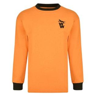 Wolverhampton Wanderers 1972 LS shirt