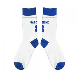 England 1996 Paul Gascoigne Retro Football Socks