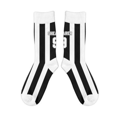 Newcastle 1996 Alan Shearer Retro Football Socks