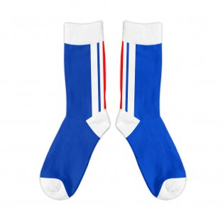 Rangers 1996 Retro Football Socks