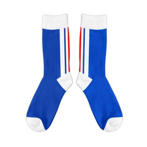 Rangers 1996 Retro Football Socks