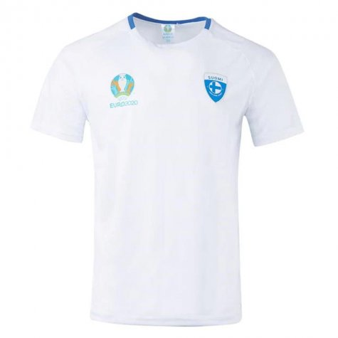 Finland 2021 Polyester T-Shirt (White)