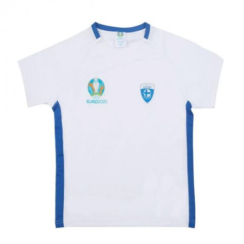 Finland 2021 Polyester T-Shirt (White) - Kids