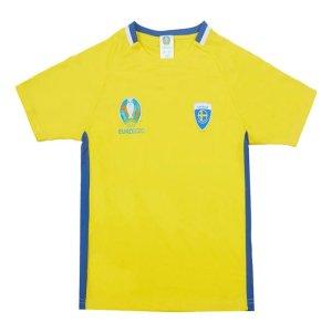 Sweden 2021 Polyester T-Shirt (Yellow) - Kids