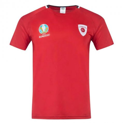 Turkey 2021 Polyester T-Shirt (Red)