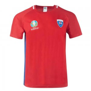 Croatia 2021 Polyester T-Shirt (Red)