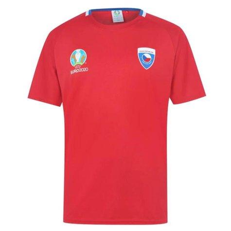 Czech Republic 2021 Polyester T-Shirt (Red)