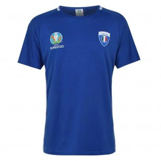 Italy 2021 Polyester T-Shirt (Blue) - Kids