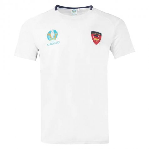 Germany 2021 Polyester T-Shirt (White)