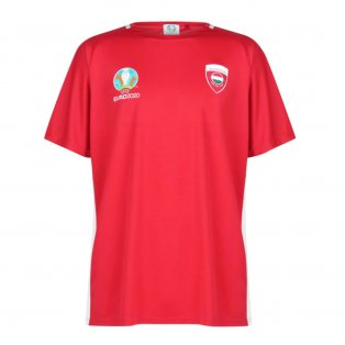 Hungary 2021 Polyester T-Shirt (Red)