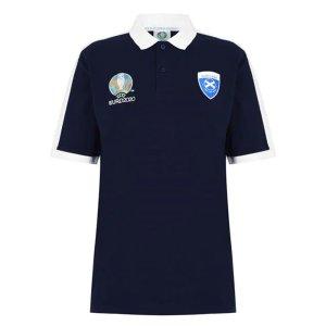 Scotland 2021 Polo Shirt (Navy)