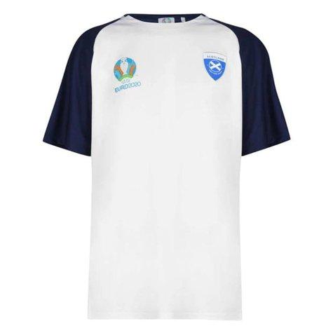 Scotland 2021 Polyester T-Shirt (White)