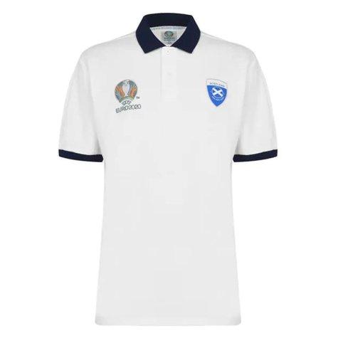 Scotland 2021 Polo Shirt (White)