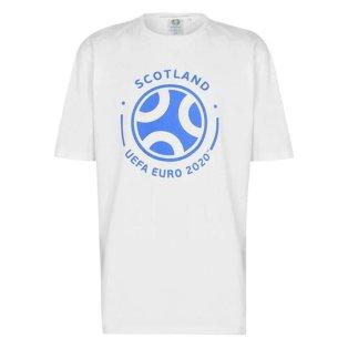 Scotland 2021 Graphic T-Shirt (White)