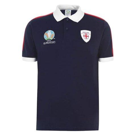 England 2021 Core Polo Shirt (Navy)