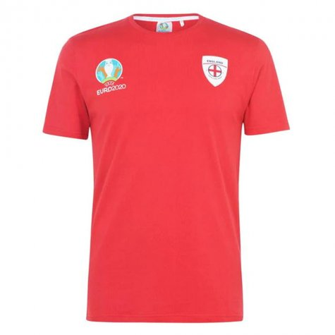 England 2021 Core T-Shirt (Red)