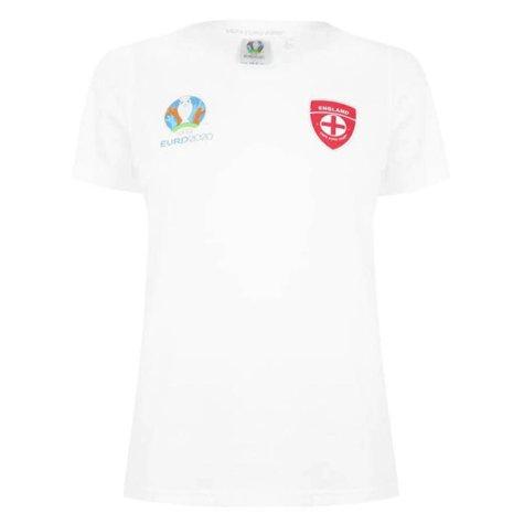 England 2021 Core T-Shirt (White) - Ladies