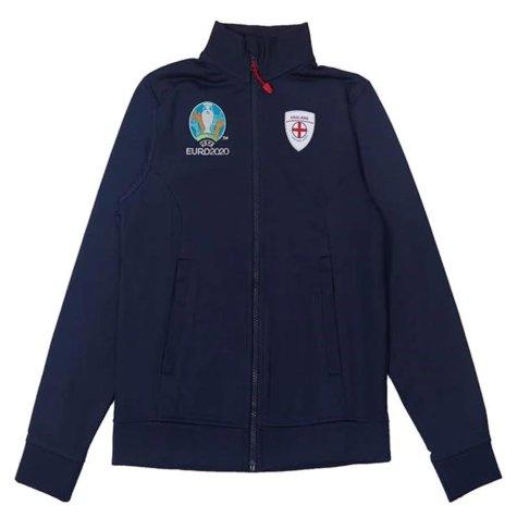 England 2021 Core Track Jacket (Navy) - Kids