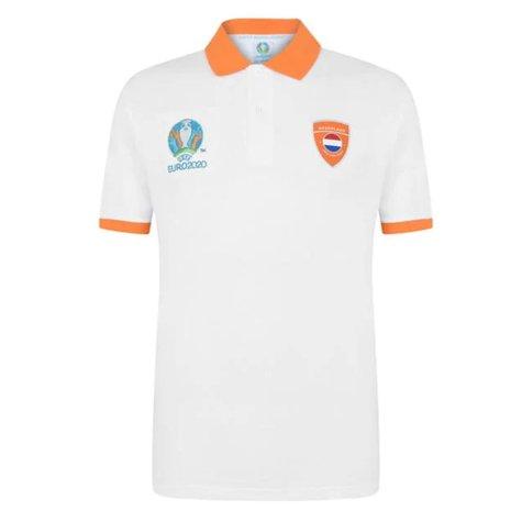 Holland 2021 Core Polo Shirt (White)
