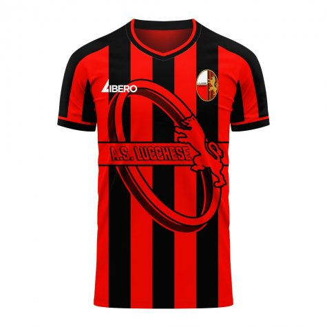 Lucchese 2020-2021 Home Concept Football Kit (Libero)