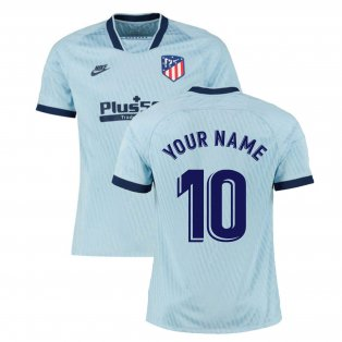 2019-2020 Atletico Madrid Third Nike Football Shirt (Your Name)