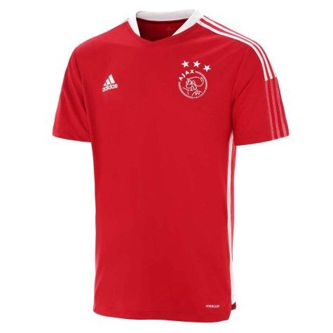 2021-2022 Ajax Training Jersey (Red)