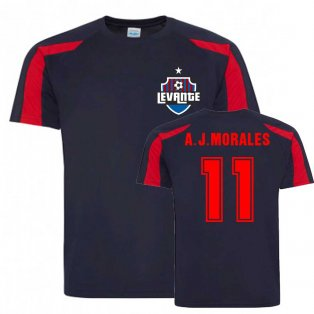 Jose Luis Moreales Levante Sports Training Jersey (Navy)