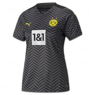 2021-2022 Borussia Dortmund Away Shirt (Kids)