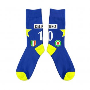 Juventus 1996 Del Piero Away Retro Socks