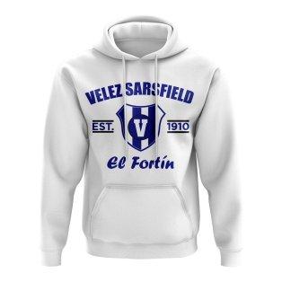 Velez Sarsfield Established Football Hoody (White)