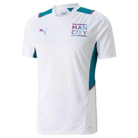 2021-2022 Man City Training Shirt (White)