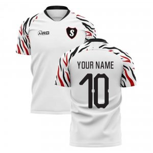 2019-2020 Swansea Home Concept Football Shirt (Your Name)