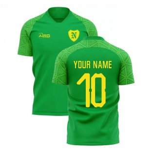 2019-2020 Norwich Away Concept Football Shirt (Your Name)