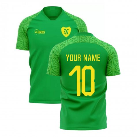 2020-2021 Norwich Away Concept Football Shirt (Your Name)
