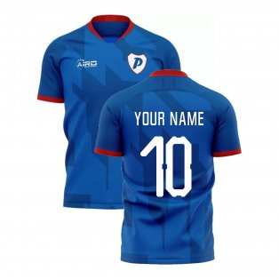 2020-2021 Portsmouth Home Concept Football Shirt (Your Name)