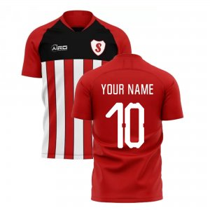 2019-2020 Southampton Home Concept Football Shirt