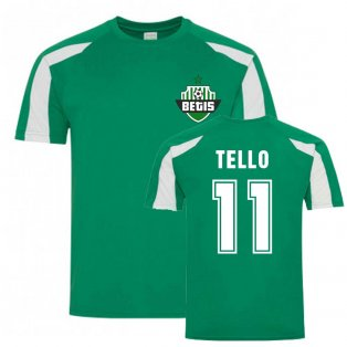 Cristian Tello Betis Sports Training Jersey (Green)