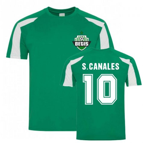 Sergio Canales Betis Sports Training Jersey (Green)