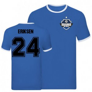 Christian Eriksen Inter Milan Ringer Tee (Blue)