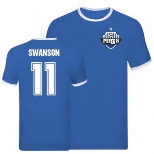 Danny Swanson St Johnstone Ringer Tee (Blue)