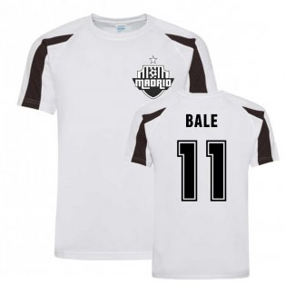 Gareth Bale Madrid Sports Training Jersey (White)